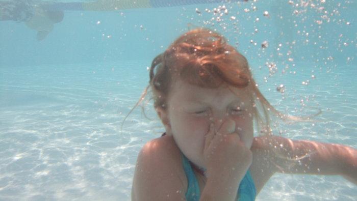 Hålla andan under vatten